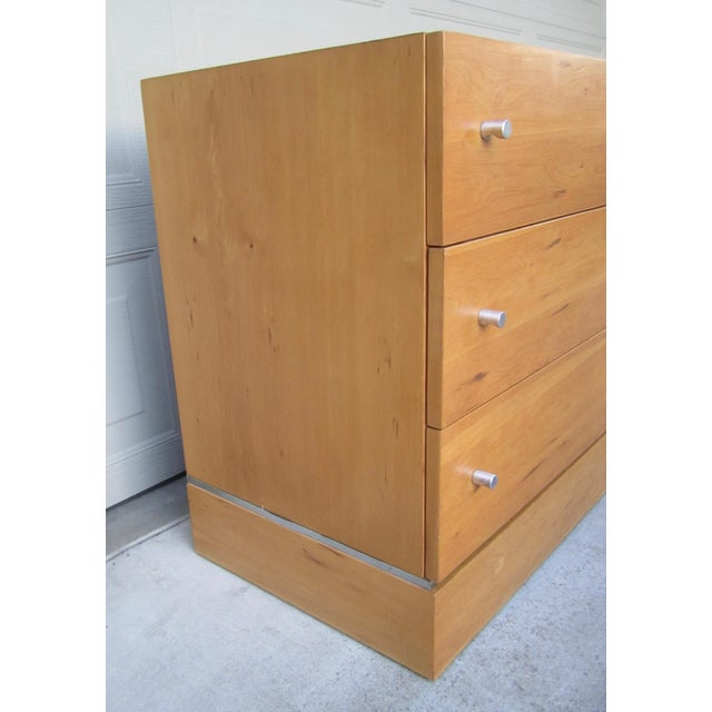 1970s 1970s Milo Baughman Thayer Coggin Maple Double Modular Dresser For Sale - Image 5 of 13