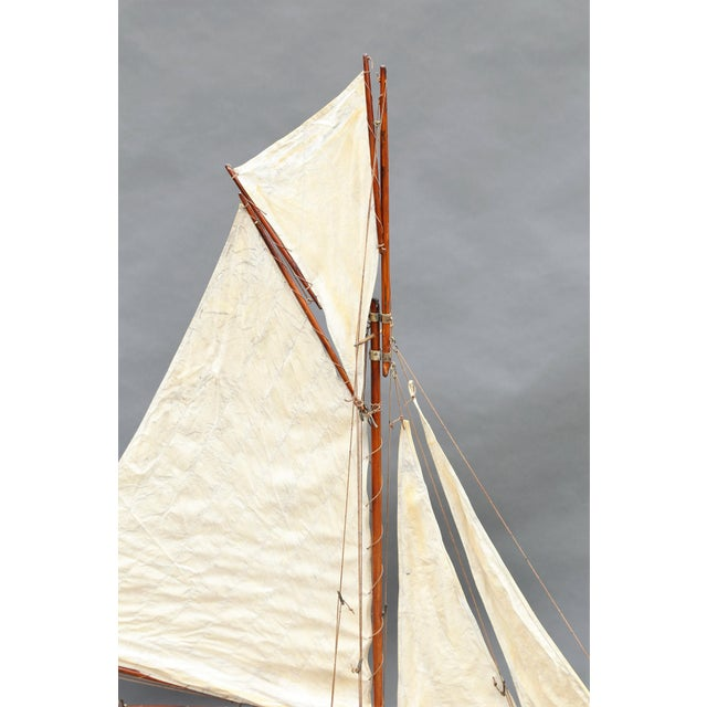Large Antique English Pond Yacht - Image 4 of 10
