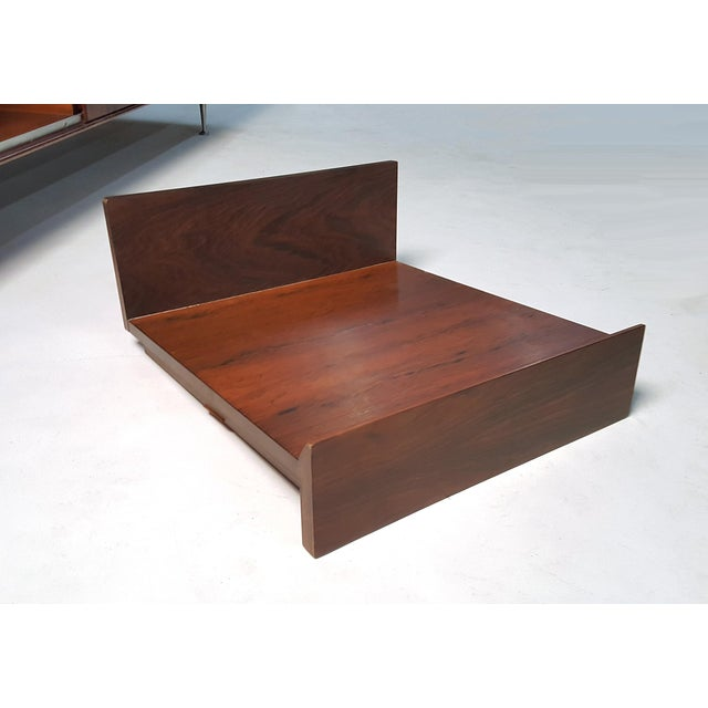 George Nelson Brazilian Rosewood Thin Edge Stereo Cabinet For Sale - Image 11 of 11