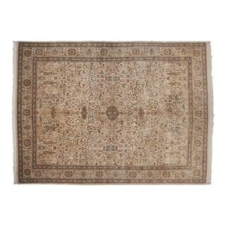 """Vintage Tabriz Carpet - 11'6"""" X 15'7"""" For Sale"""