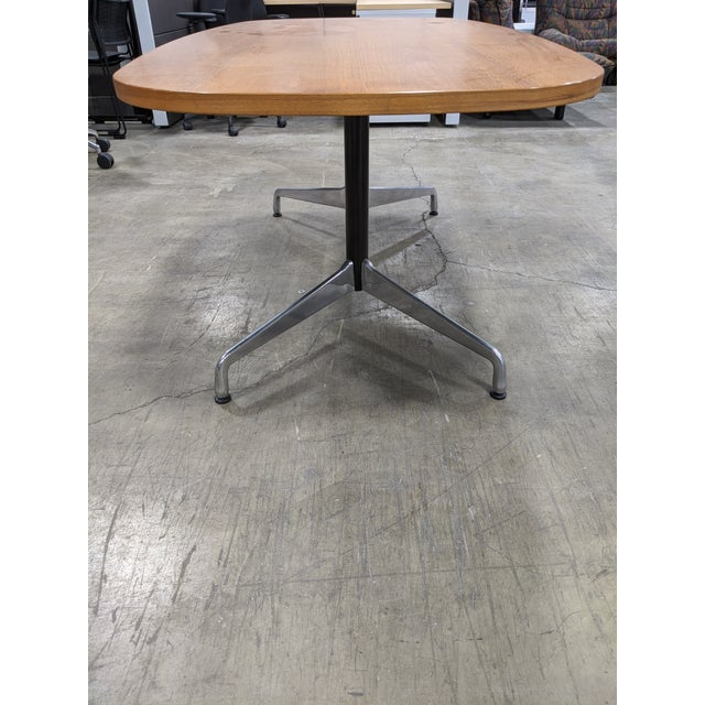 1990s Mid-Century Modern Eames Table/Writing Desk For Sale - Image 5 of 8