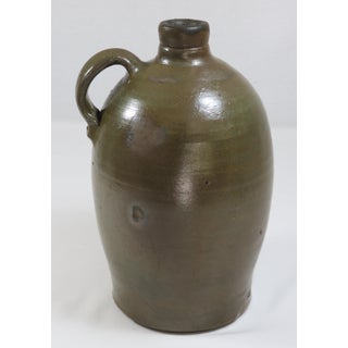 1860s Antique Southern Usa Redware Liquor Jug Preview