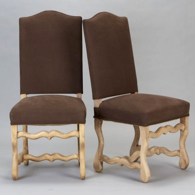 French Os Du Mouton Dining Chairs - Set of 6 - Image 3 of 8