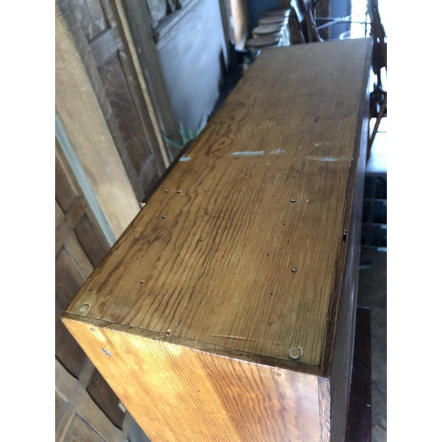 Antique Multi Drawer Cabinet For Sale - Image 9 of 11