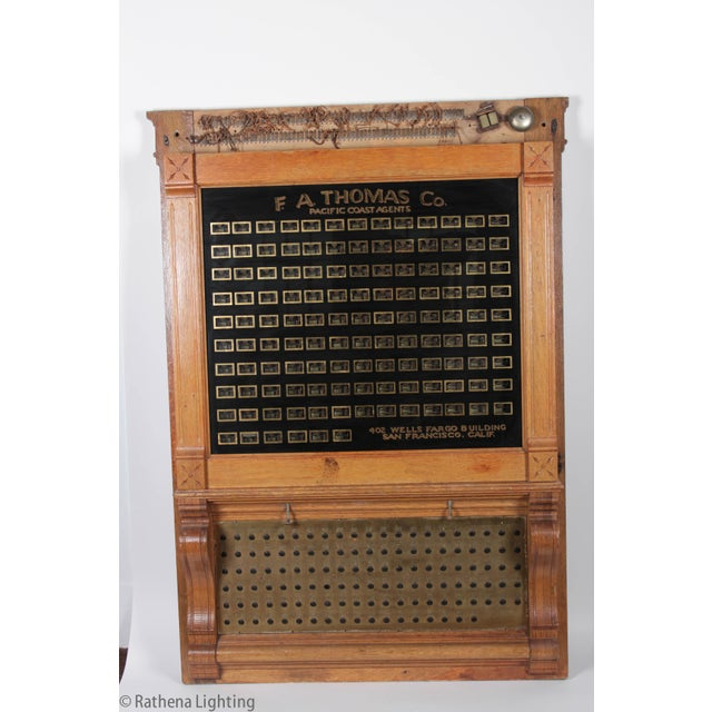 Antique Annunciator Call Box - Image 3 of 11
