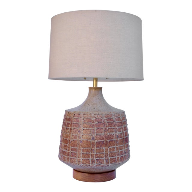 David Cressey Pottery Table Lamp For Sale