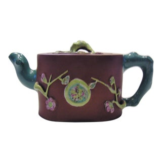 19th Century Chinese I-Hsing Sha-Hu Teapot For Sale
