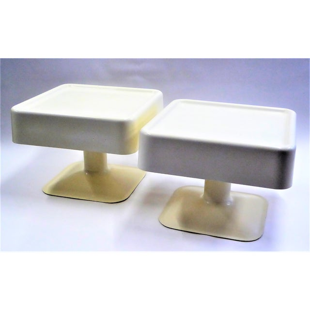 Yrjo Kukkapuro Rare Pair of 1960s Coffee Side Tables for Haimi, Finland - Image 2 of 11