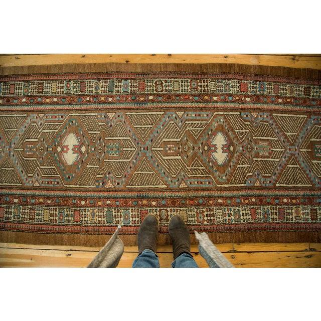 "Vintage Serab Rug Runner - 3'3"" x 16'8"" For Sale - Image 4 of 7"