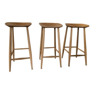 Devol Kitchens Bum Stools - Set of 3 For Sale