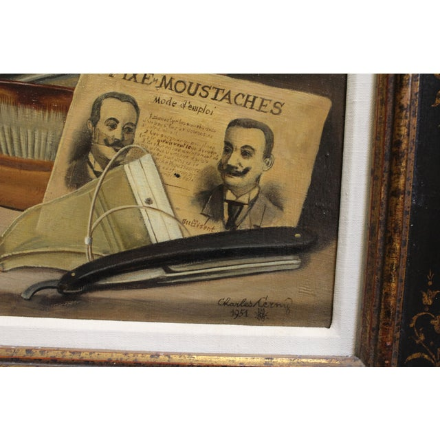 Men's Grooming Still Life by Charles Cerny For Sale - Image 4 of 6