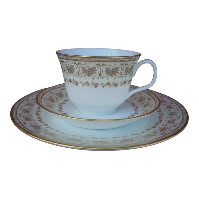 Minton Dessert Set - 3 Pieces - Image 1 of 4