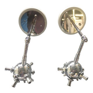 Italian Sputnik Wall Sconces - A Pair