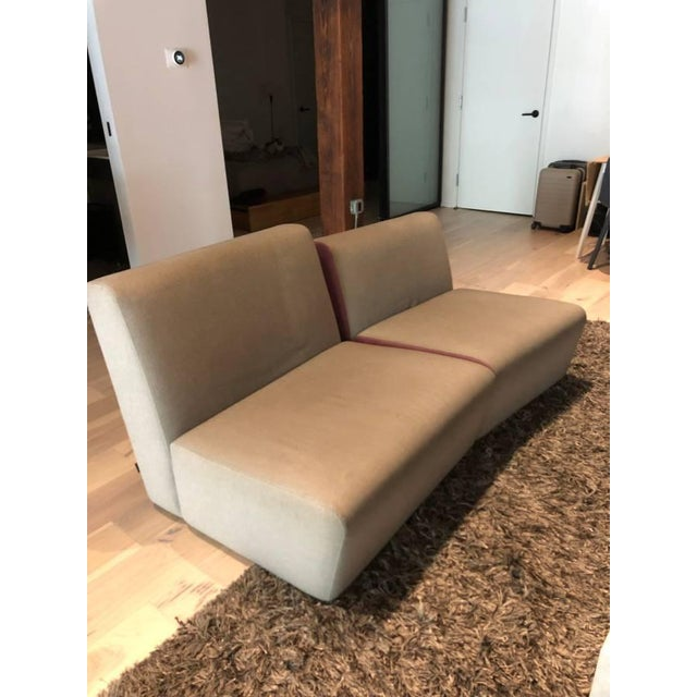 I custom ordered this for $4000 from Ligne Roset in Soho a few years ago. It's in good shape overall and it's a unique...