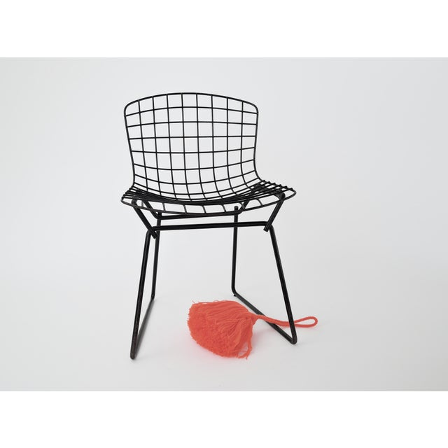 Metal 1960s Mid-Century Modern Harry Bertoia for Knoll Child Chair For Sale - Image 7 of 9