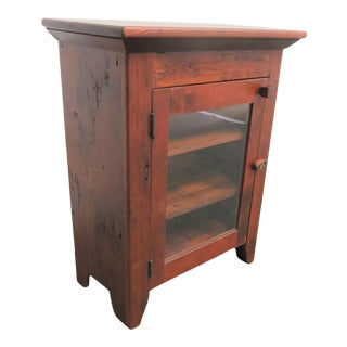 David Nelson Hand Made Pine Cabinet For Sale