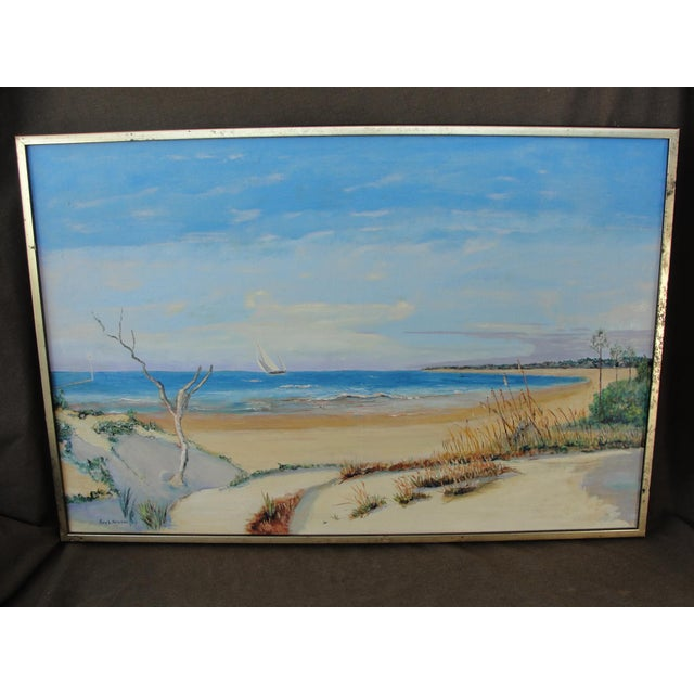 Vintage Oil on Canvas Painting - Image 2 of 10