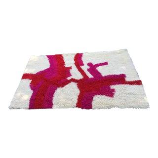 Glen Kaufman Rare Textile Rug Wall Art - For Sale