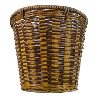 Small Round Wicker Basket For Sale