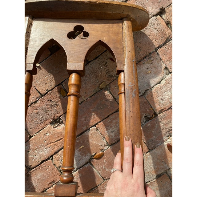 Antique Prayer Chairs - a Pair For Sale - Image 12 of 13