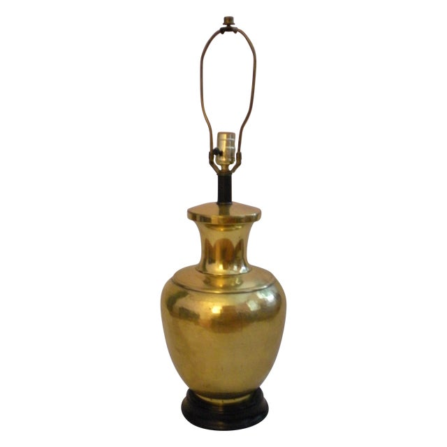 Brass Canister Lamp - Image 1 of 5