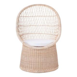 Vizcaya Occasional Chair W/ Ivory Cushion