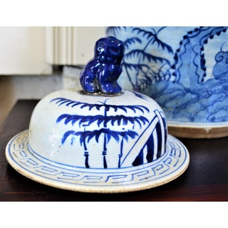 Chinoiserie White & Blue Baluster Temple/Ginger Jar Preview