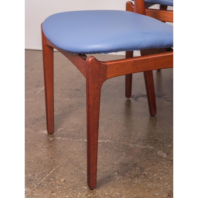 Set of 6 Erik Buck Style Teak Dining Chairs - Image 11 of 11