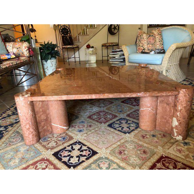 Gae Aulenti Knoll International Marble Coffee Table - Vintage, Mid-Century For Sale - Image 4 of 10
