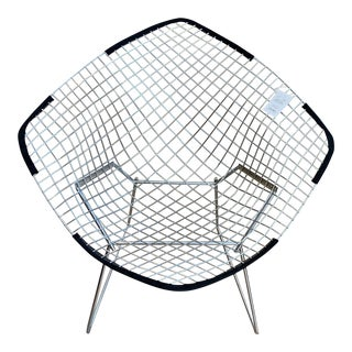 1950s Vintage Knoll Bertoia Diamond Lounge Chair For Sale