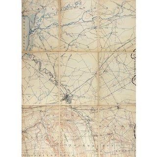 Oneida New York 1895 Us Geological Survey Folding Map For Sale