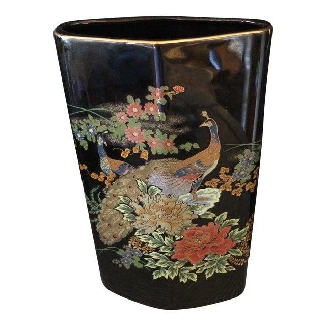 Japanese Peacock Vase - Image 1 of 6