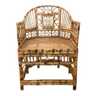 1900s Vintage Bamboo Parlor Chair For Sale