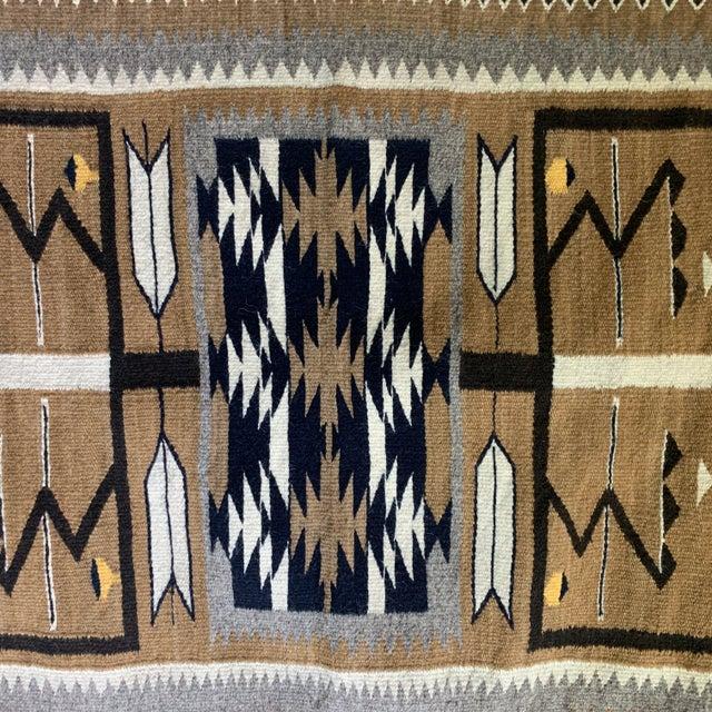 "1960s Vintage Navajo Pictorial Rug-2'4'x3'8"" For Sale - Image 12 of 13"