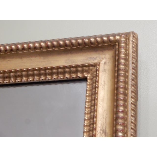 Early 19th Century 19th Century French Charles X Gilt Mirror / Mercury Glass For Sale - Image 5 of 10