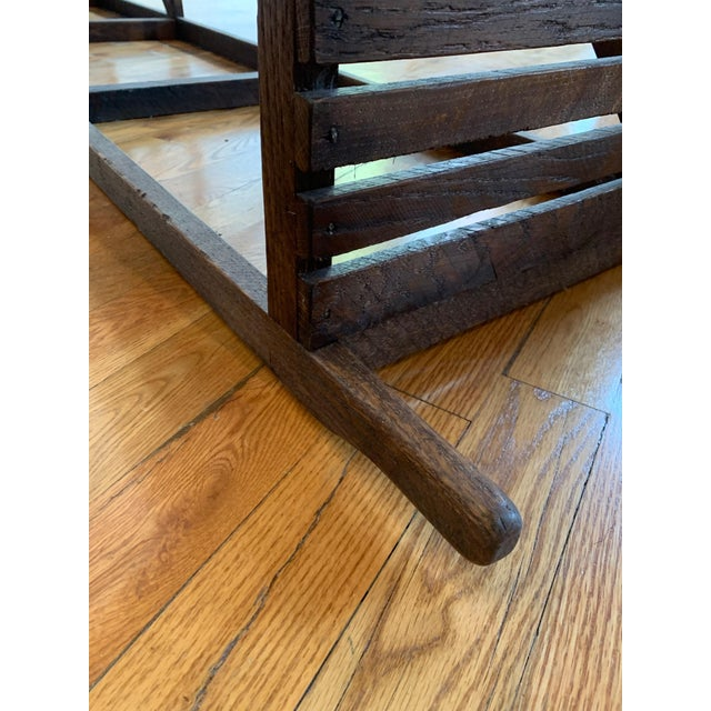 "Rustic ""Museum Crate"" Console Table For Sale In Atlanta - Image 6 of 12"