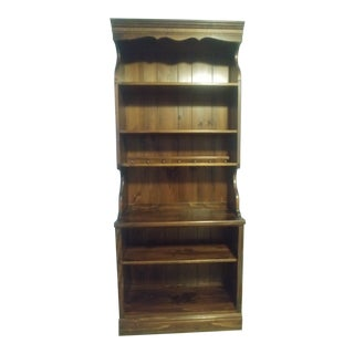 Ethan Allen Shelf English Toffee For Sale