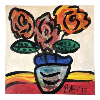 1980's Original Peter Robert Keil Still Life Painting For Sale