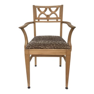 Late 20th Century Urban Collective Wooden Chair For Sale
