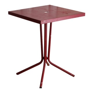 vintage french red garden table - Garden Furniture Shabby Chic