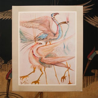 "1952 Dali, Original Period ""Birds"" Lithograph From the Mrs. Albert D. Lasker Collection Preview"
