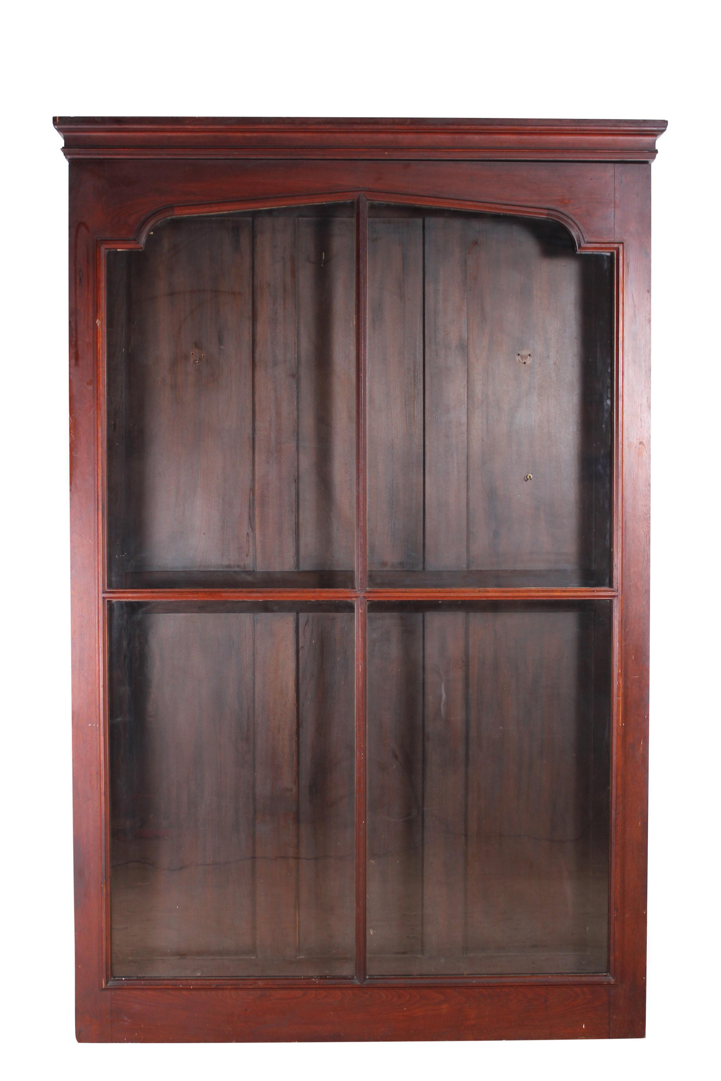 Victorian Black Walnut Wall Display Cabinet  sc 1 st  Chairish & Victorian Black Walnut Wall Display Cabinet | Chairish