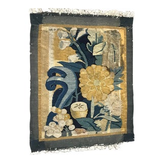 An Antique French Tapestry Fleur D' Chioux For Sale