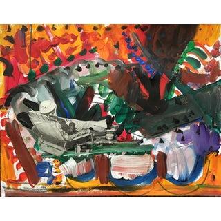 Sean Kratzert 'Lounger' Collage For Sale