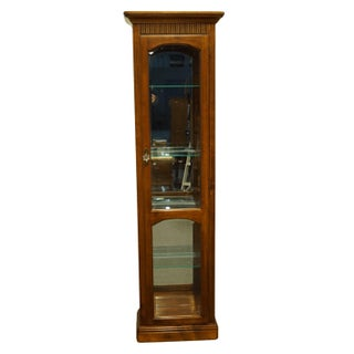 "20th Century Italian Neoclassical Pulaski Furniture 22"" Petite Lighted Display Curio Cabinet Preview"