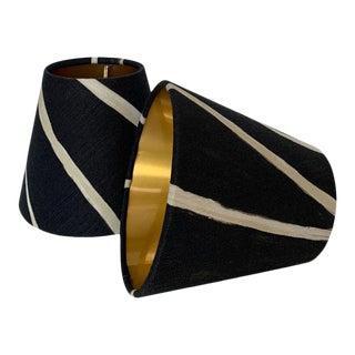 Custom Sconce Shades- a Pair For Sale