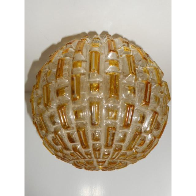 Mid Century Honeycomb Ceiling Light Shade Lamp - Image 4 of 7