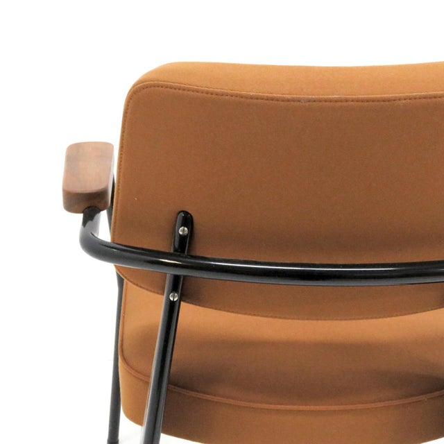 Vitra Fauteuil Direction by Jean Prouvé Armchair For Sale - Image 9 of 11