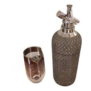 Vintage Sparklers Spritzer Bottle & Pitcher For Sale