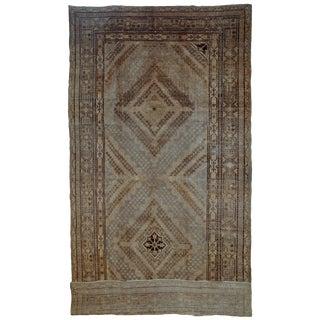 1900s Handmade Antique East Turkestan Khotan Rug 6.1' X 11.9' For Sale